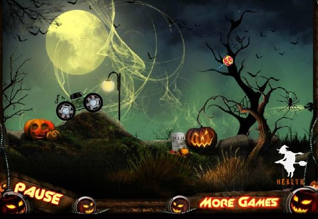 Игра Джип такси для ведьм онлайн