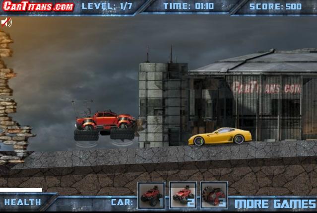 Игра Джип-трансформер онлайн