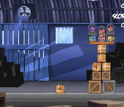 Игра Злые птички Рио онлайн