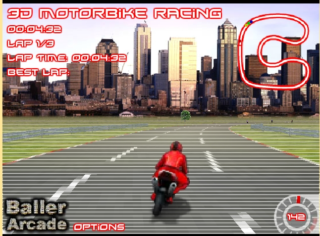 Игра Кольцевые гонки онлайн