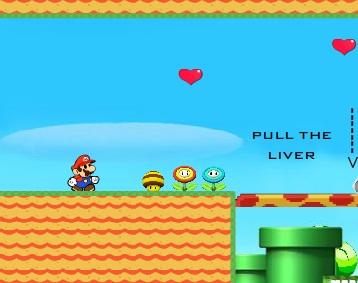 Игра Марио и принцесса онлайн
