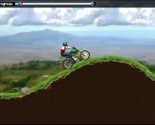 Игра Мотогонка по горам онлайн