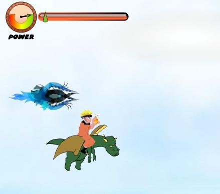 Игра Наруто на драконе онлайн