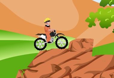 Игра Наруто на мотоцикле онлайн