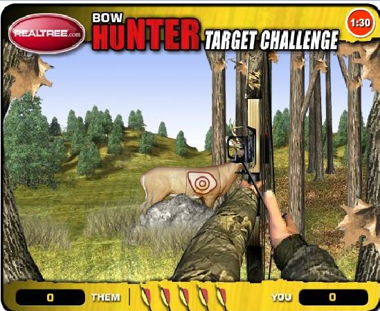 Игра Охота на оленей онлайн