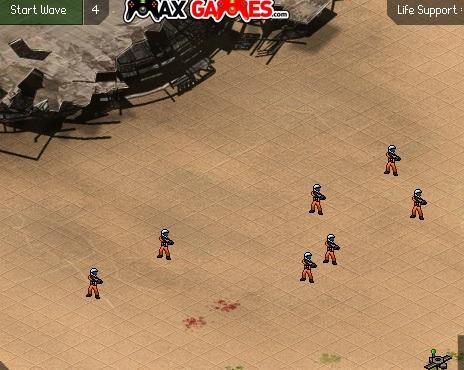 Игра Пустынная планета онлайн