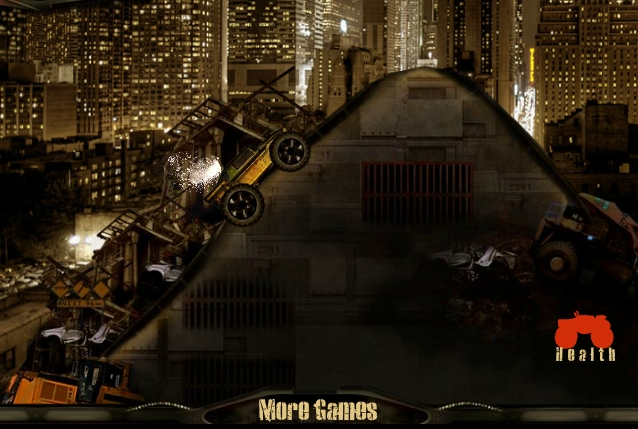 Игра Ржавый Гонщик онлайн