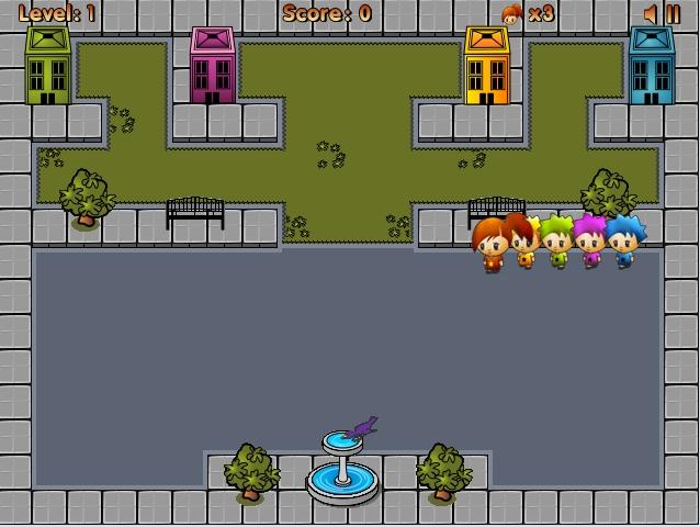 Игра Спаси Ребёнка онлайн