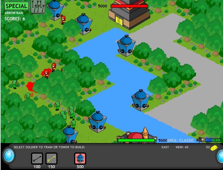 Игра Стратегия защиты 7 онлайн