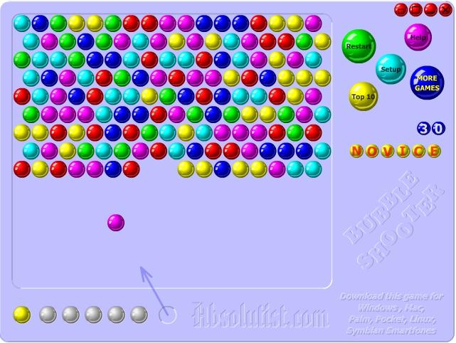 Игра Стрелять шариками онлайн