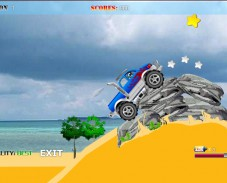 Игра Супер джип онлайн