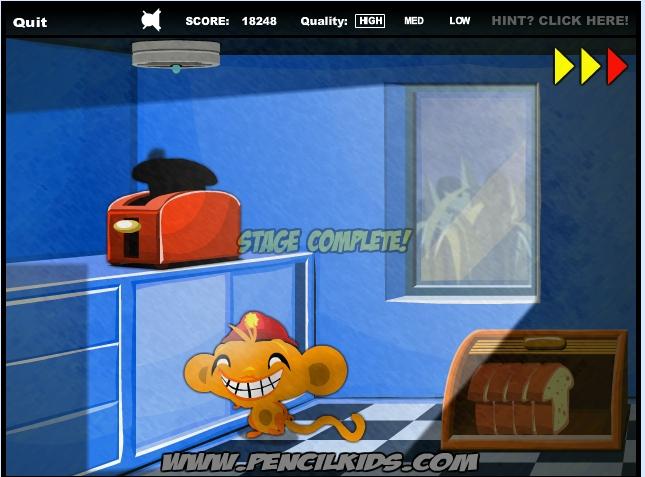 Игра Счастливая обезьянка 5 онлайн