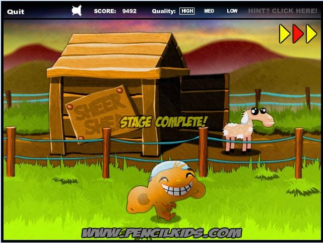 Игра Счастливая обезьянка 6 онлайн