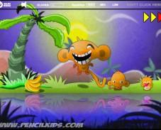 Игра Счастливые обезьянки 3 онлайн
