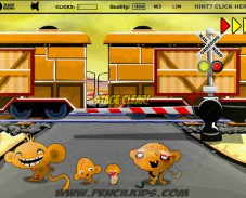 Игра Счастливые обезьянки 4 онлайн