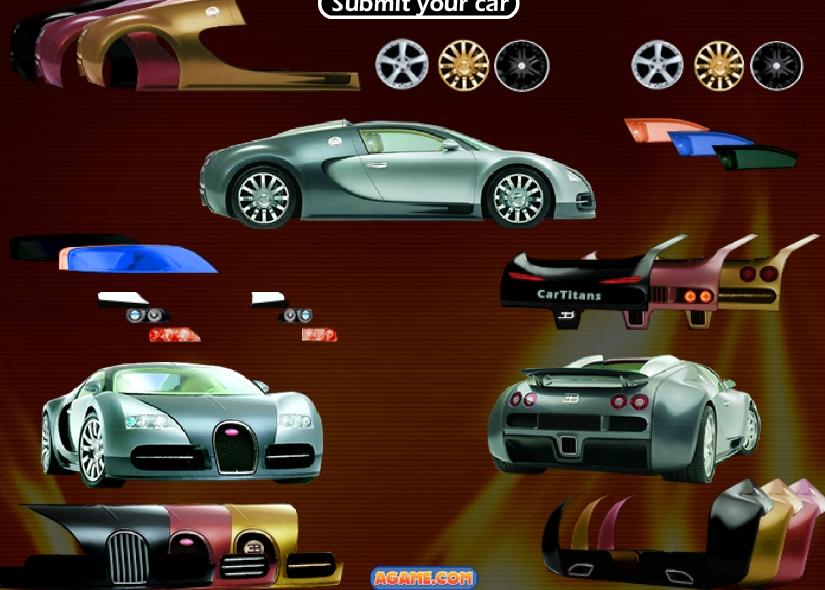 Игра Тюнинг Bugatti Veyron онлайн