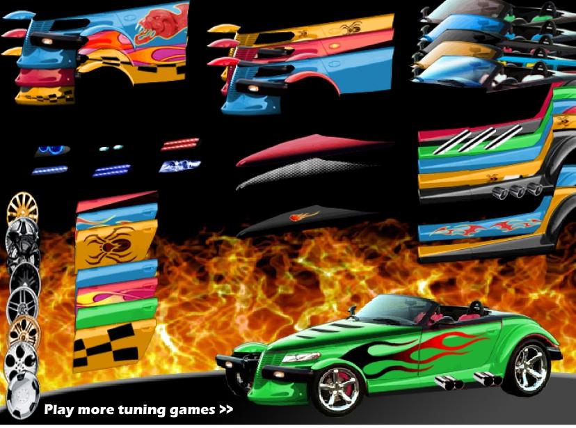 Игра Тюнинг Hotrod онлайн