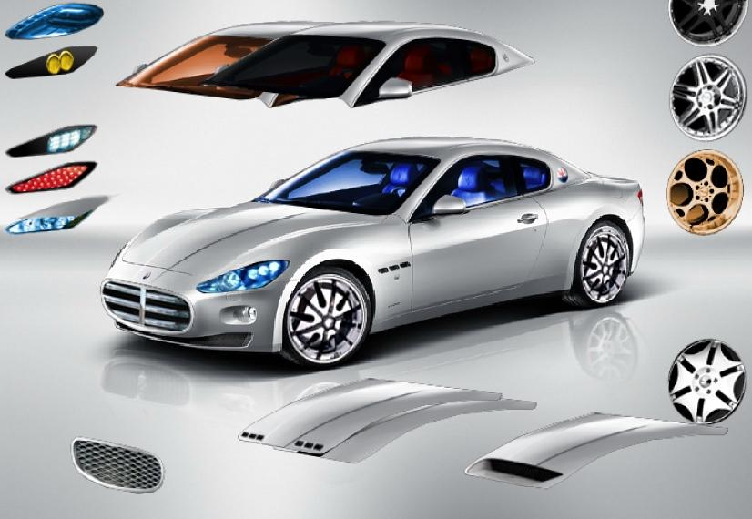 Игра Тюнинг Maserati GranTurismo онлайн