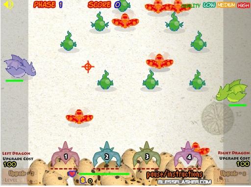 Игра Яйца дракона онлайн