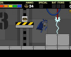 Игра Batman revolutions онлайн