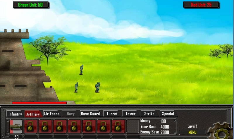Игра Battle Gear Vs Humaliens онлайн