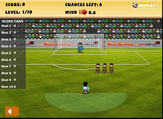 Игра Best Free Kicker онлайн
