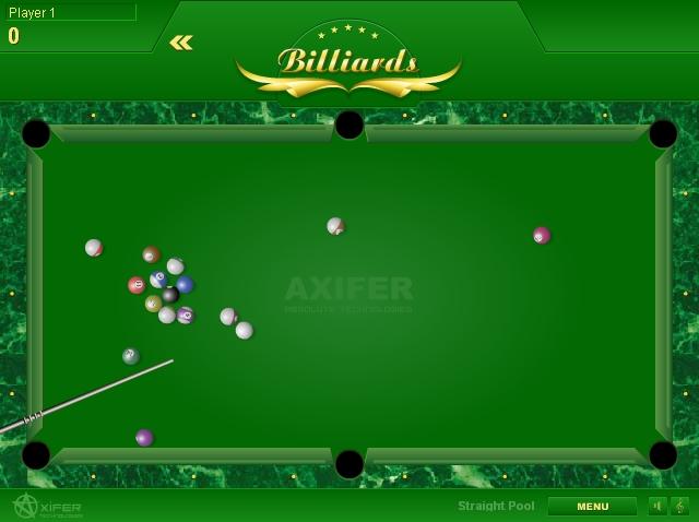 Игра Billiards онлайн