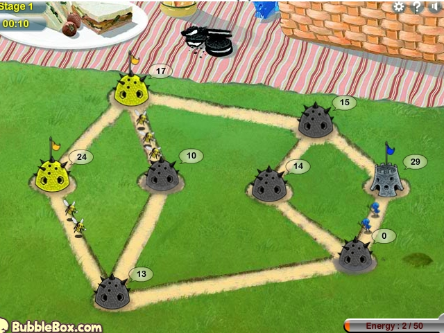 Игра Bug War 2 онлайн