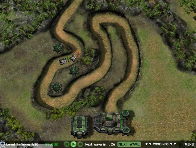 Игра Colony Defenders TD Battle онлайн