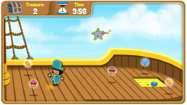 Игра Dora's Pirate Boat Tr онлайн