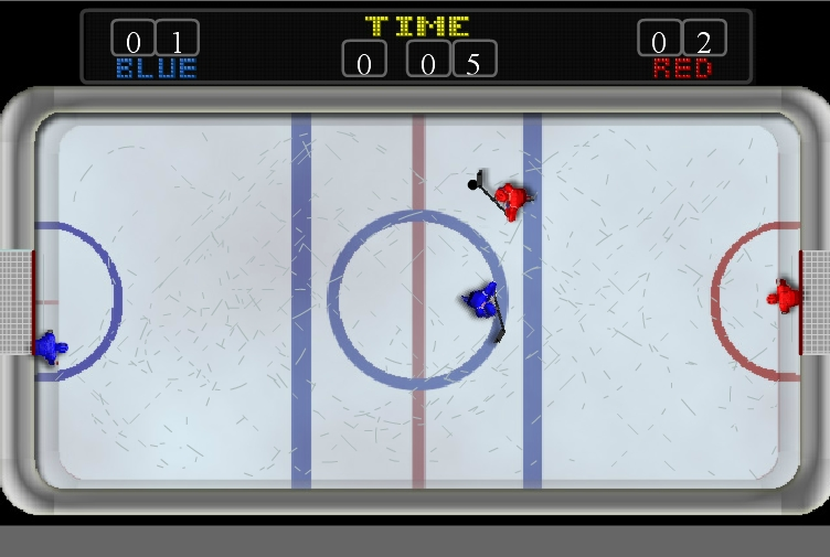 Игра Flashfooty Hockey 2 онлайн