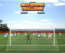 Игра Goalkeeper challenge онлайн