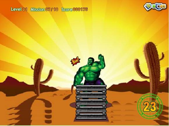 Игра Hulk power онлайн