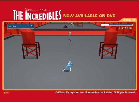Игра Incredibles онлайн