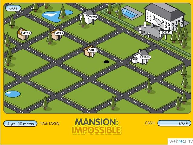 Игра Mansion Impossible онлайн