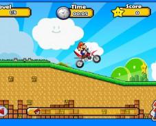 Игра Mario Motocross Mania 2 онлайн