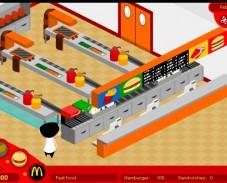 Игра McDonalds онлайн