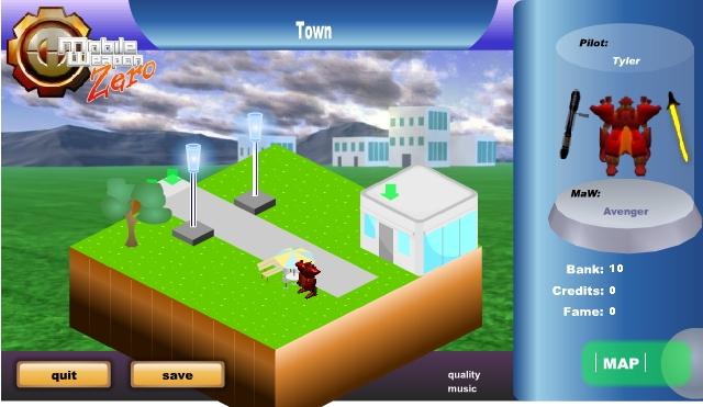 Игра Mobile Weapon Zero онлайн