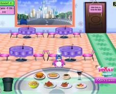 Игра NewYork Penguin Diner онлайн