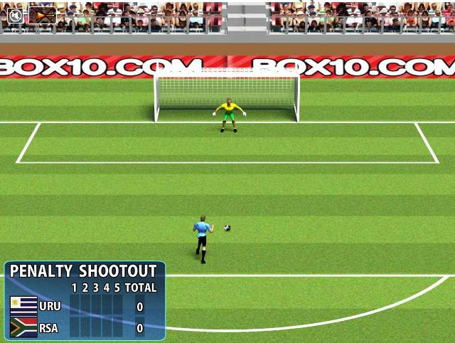 Игра Penalty Shootout 2010 онлайн