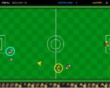 Игра Pocket Soccer онлайн