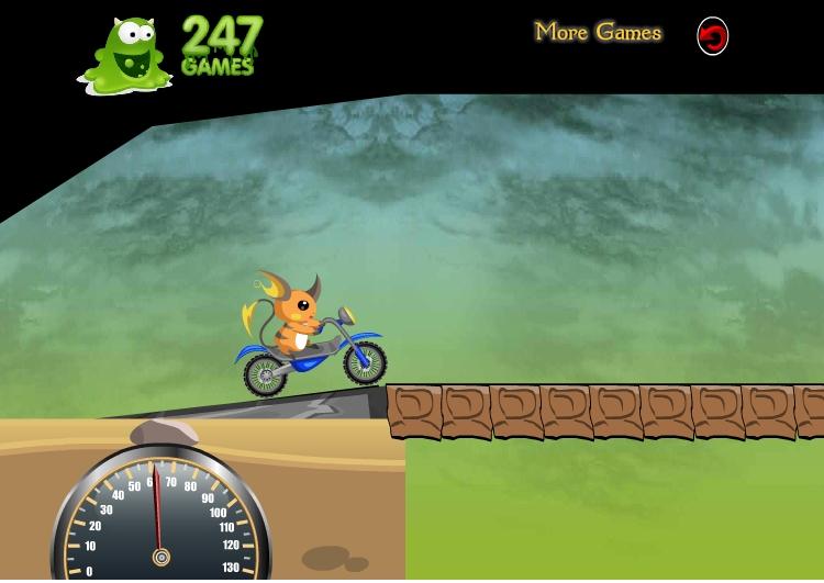 Игра Raichu Ride онлайн