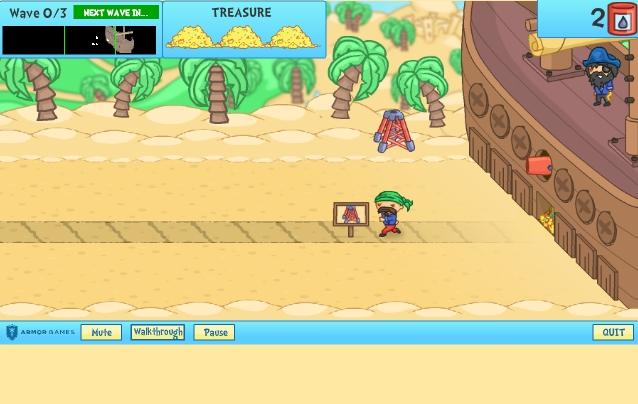Игра Shore Siege 2 онлайн