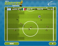Игра Simple Soccer Championship онлайн
