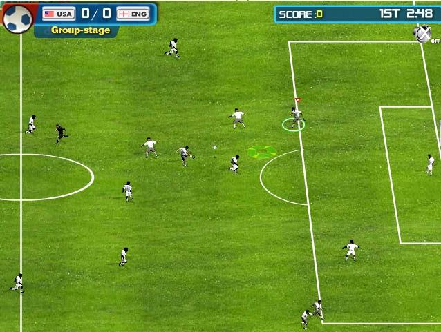Игра Soccer World Cup 2010 онлайн