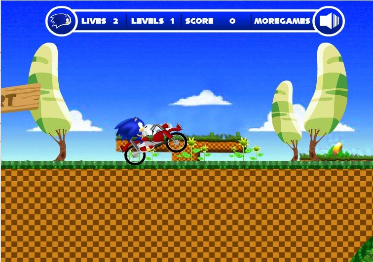 Игра Sonic Ride 2 онлайн