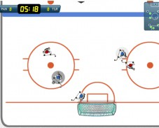 Игра Super Ice Hockey онлайн