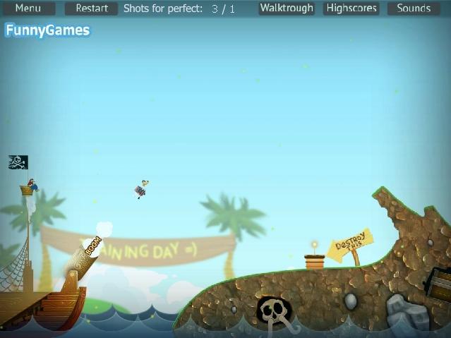 Игра The Pirates Time онлайн