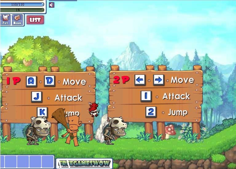 Игра Tribe Boy Vs Monsters онлайн