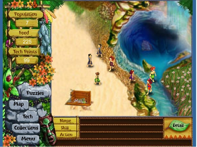 Игра Virtual Villagers онлайн